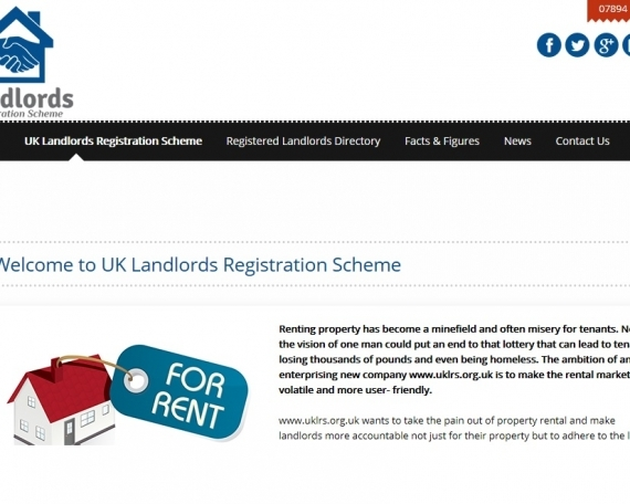 UK Landlords Registration Scheme