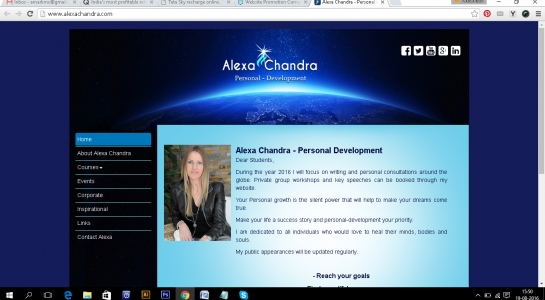 Website Development Branding – Alexa Chandra