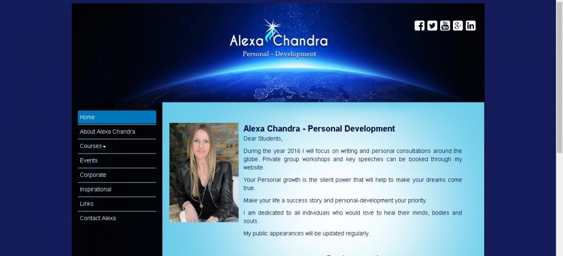 Website Development Branding – Alexa Chandra