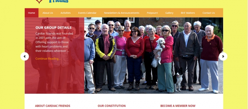 Non-Profit Organisation Website Re-Design