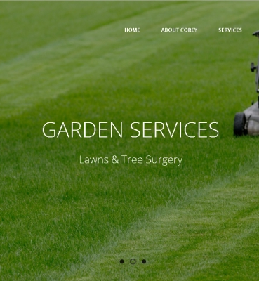 Redesign WordPress Website – Corey Contracting