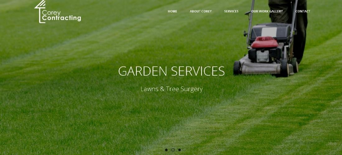 Redesign WordPress Website – Corey Contracting