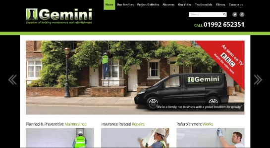 WordPress Website Development – Gemini Builders