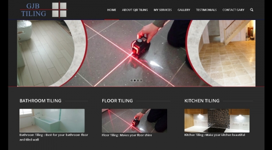GJB Tiling Company Website