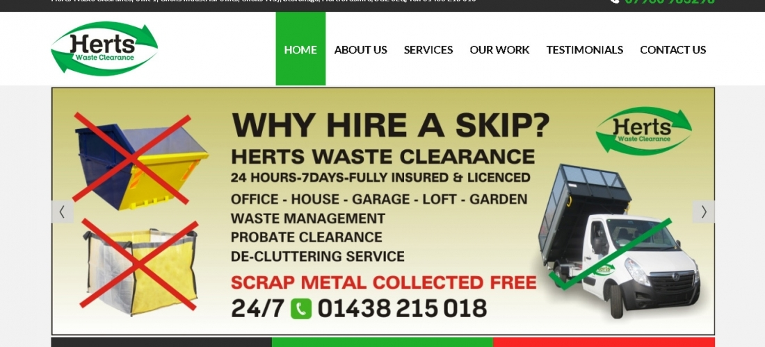 Herts waste clearance
