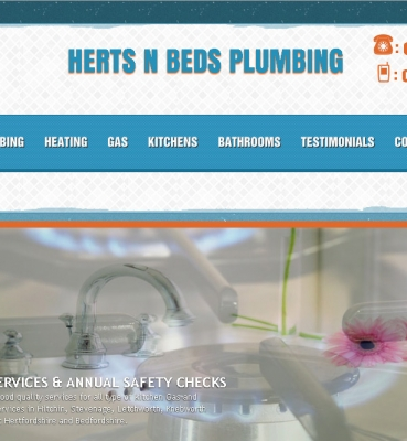 Plumbing Company Website Development
