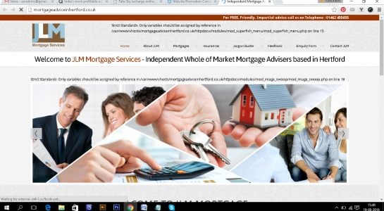 Website Development for Mortgage Advisers