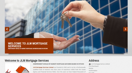 Professional Website Development – JLM Mortgage Services