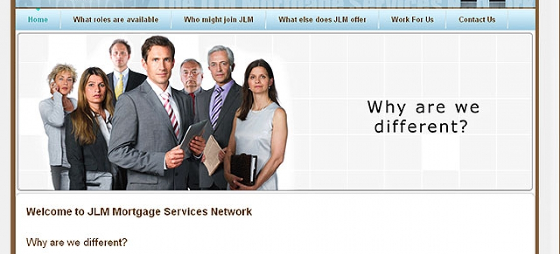 Beautiful Website Design – JLM Network
