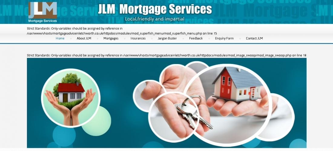 Mortgage Company Website Design – JLM MORTGAGE