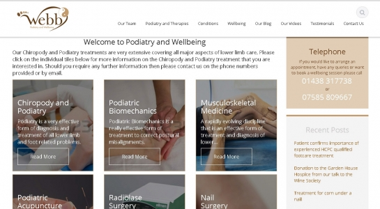 Podiatry and Well Being