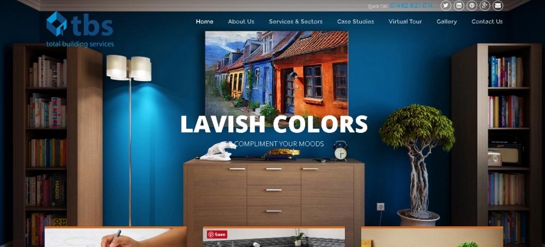 WordPress Website Design for Total Building Services