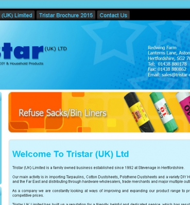 Online Shopping Cart Development – TRISTAR UK