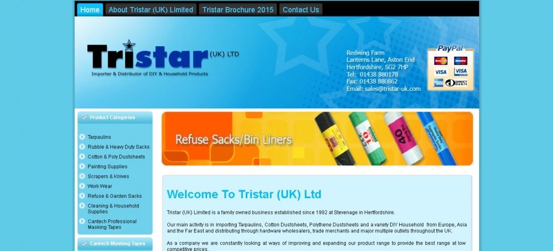 Online Shopping Cart Development – TRISTAR UK